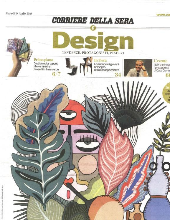 Marta Sala Éditions - Design Corriere della Sera