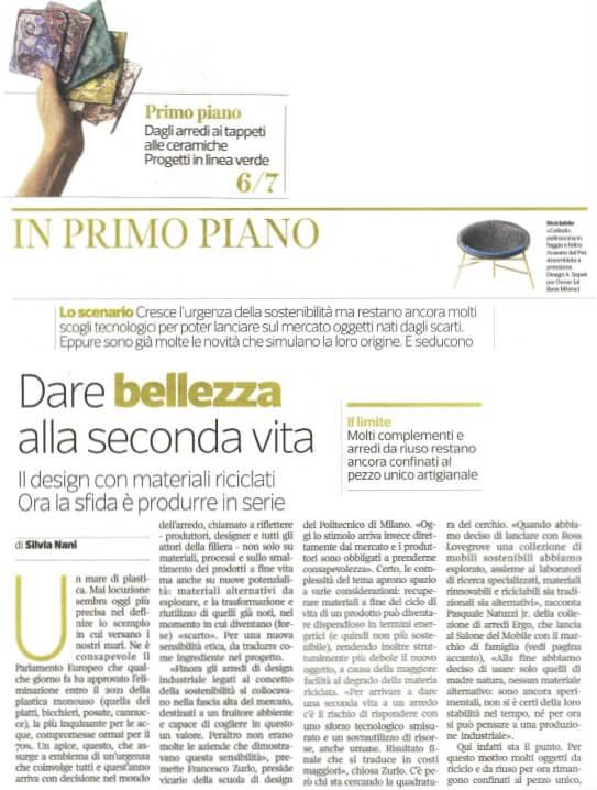 Design Corriere della Sera